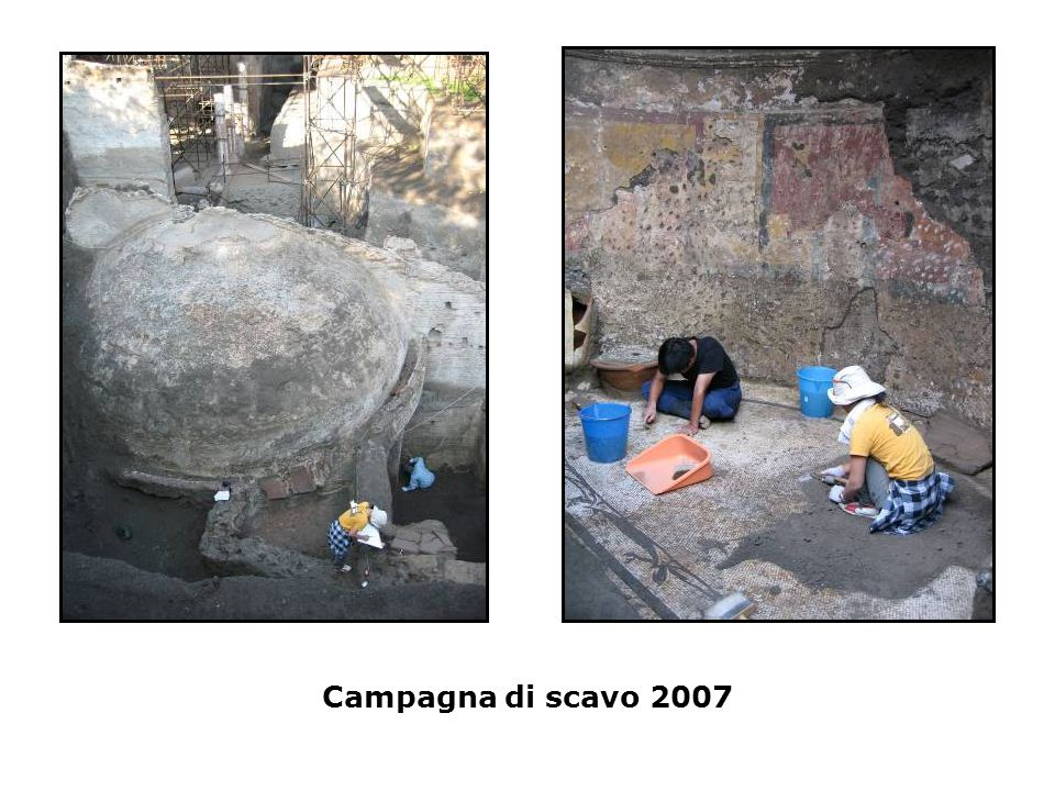 Campagna di scavo 2007