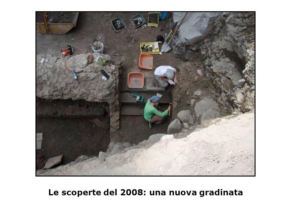Le scoperte del 2008: una nuova gradinata
