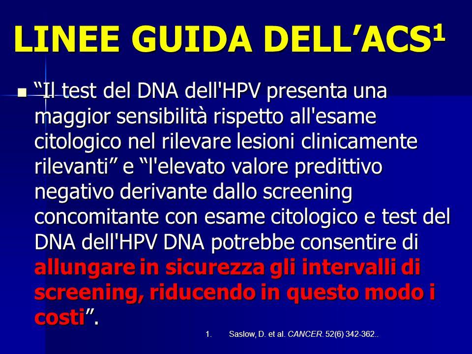 """CARTA INTERNAZIONALE DI EUROGIN """"L'età ideale per iniziare lo screening con l'esame citologico associato al test dell'HPV sono i 30 anni. """"L'età ideal"""