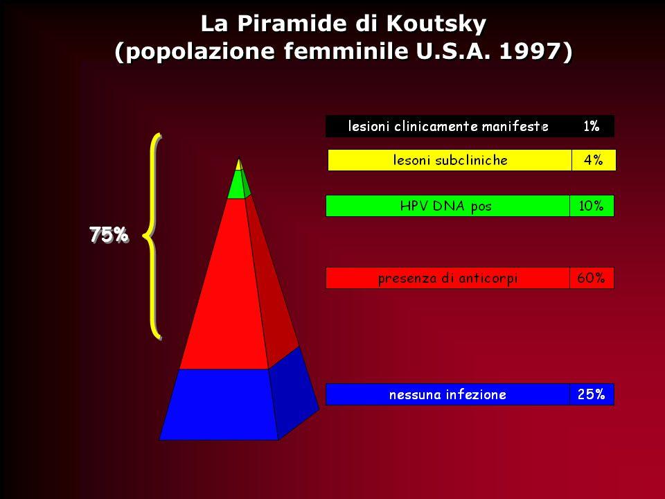 La Piramide di Koutsky (popolazione femminile U.S.A.
