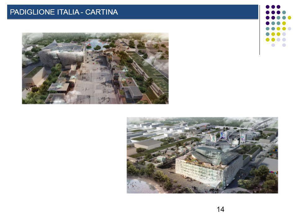 14 PADIGLIONE ITALIA - CARTINA