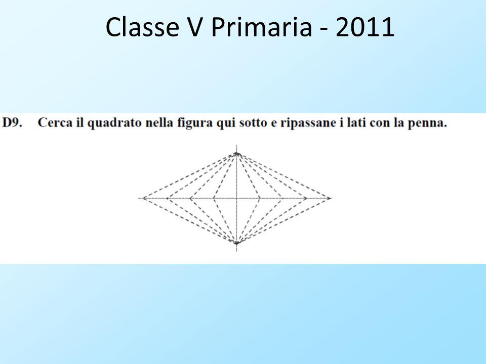 Classe V Primaria - 2011