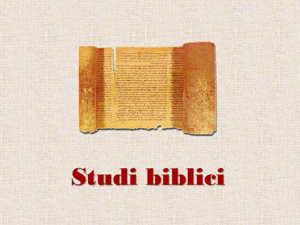 Studi biblici