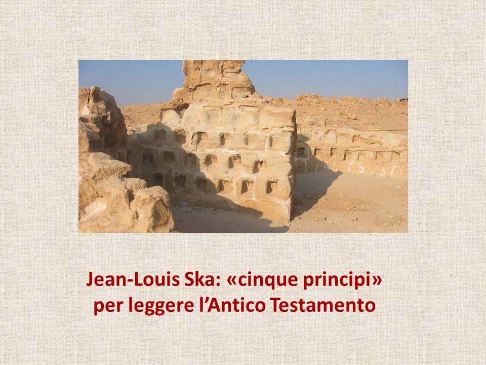 Jean-Louis Ska: «cinque principi» per leggere l'Antico Testamento