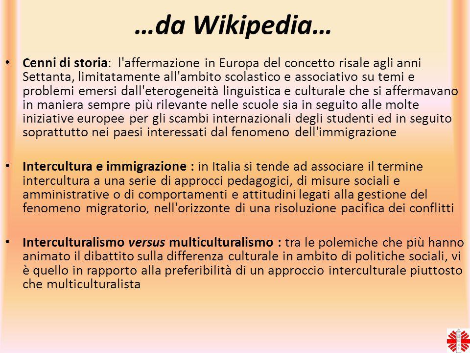 …da Wikipedia… Cenni di storia: l'affermazione in Europa del concetto risale agli anni Settanta, limitatamente all'ambito scolastico e associativo su