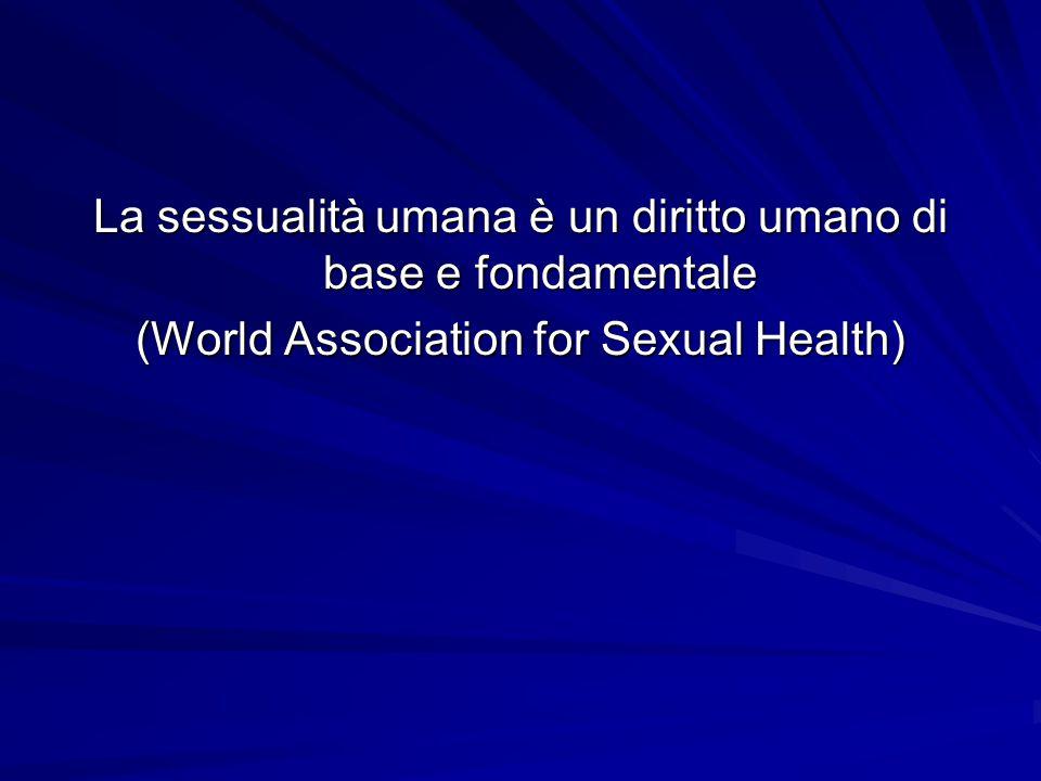 Working group Ogni gruppo elabori una definizione di sessualità.