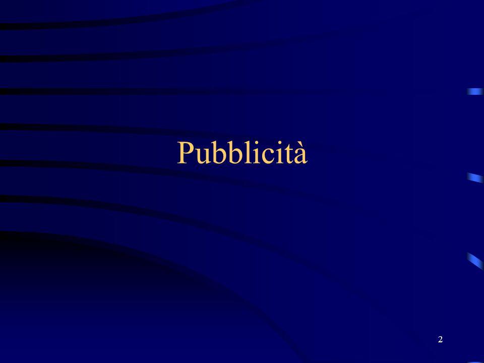 2 Pubblicità