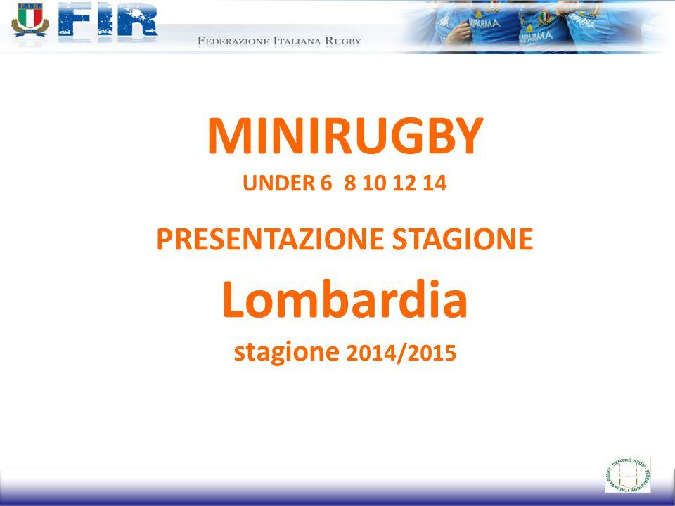 OBIETTIVI GENERALI 1.Promozione, del gioco del rugby, in tutte le realtà locali storiche e non.