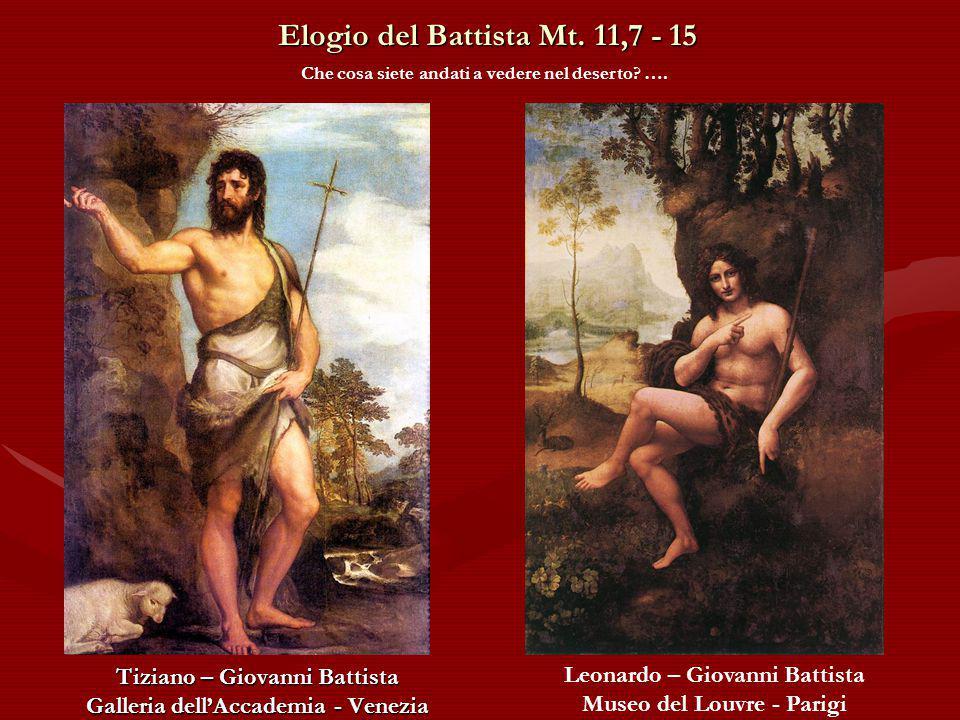 Elogio del Battista Mt.