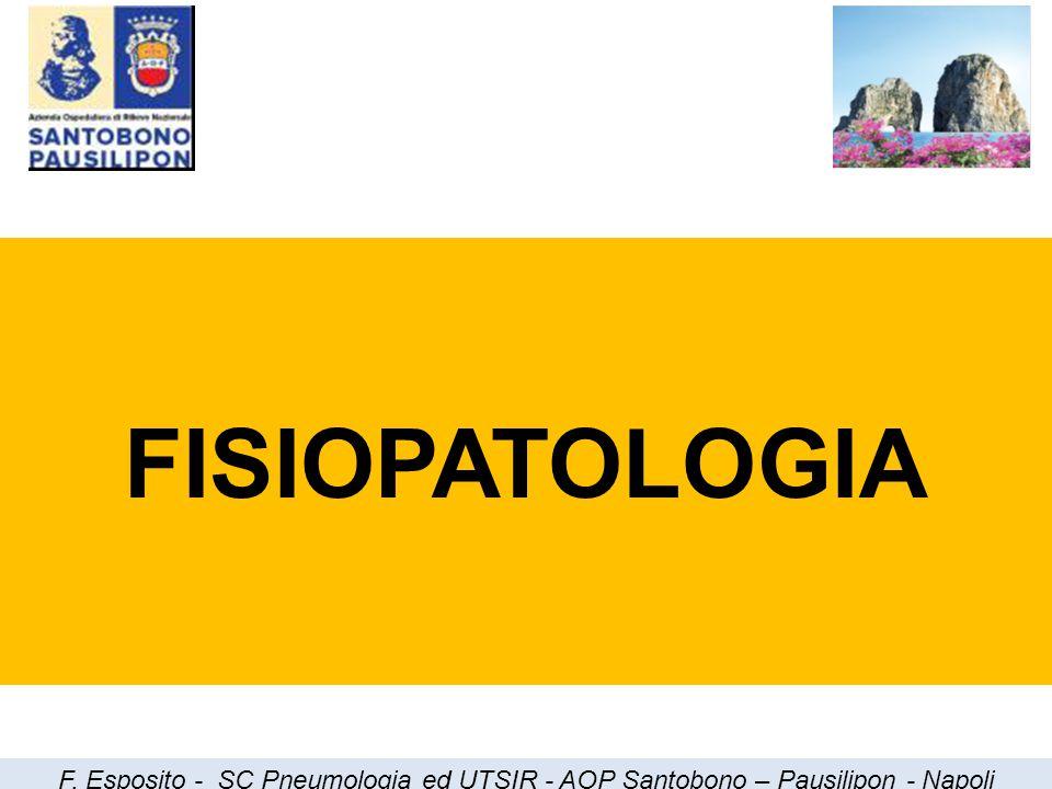 Cause di IRC PolmonariNon Polmonari Broncodisplasia SNC a.