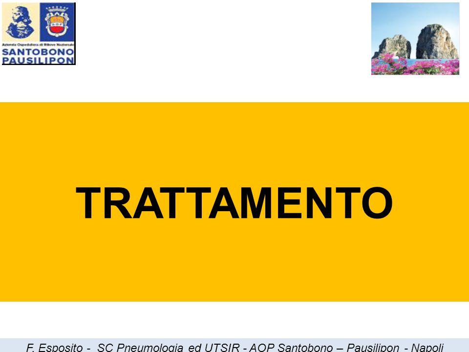 TRATTAMENTO F. Esposito - SC Pneumologia ed UTSIR - AOP Santobono – Pausilipon - Napoli