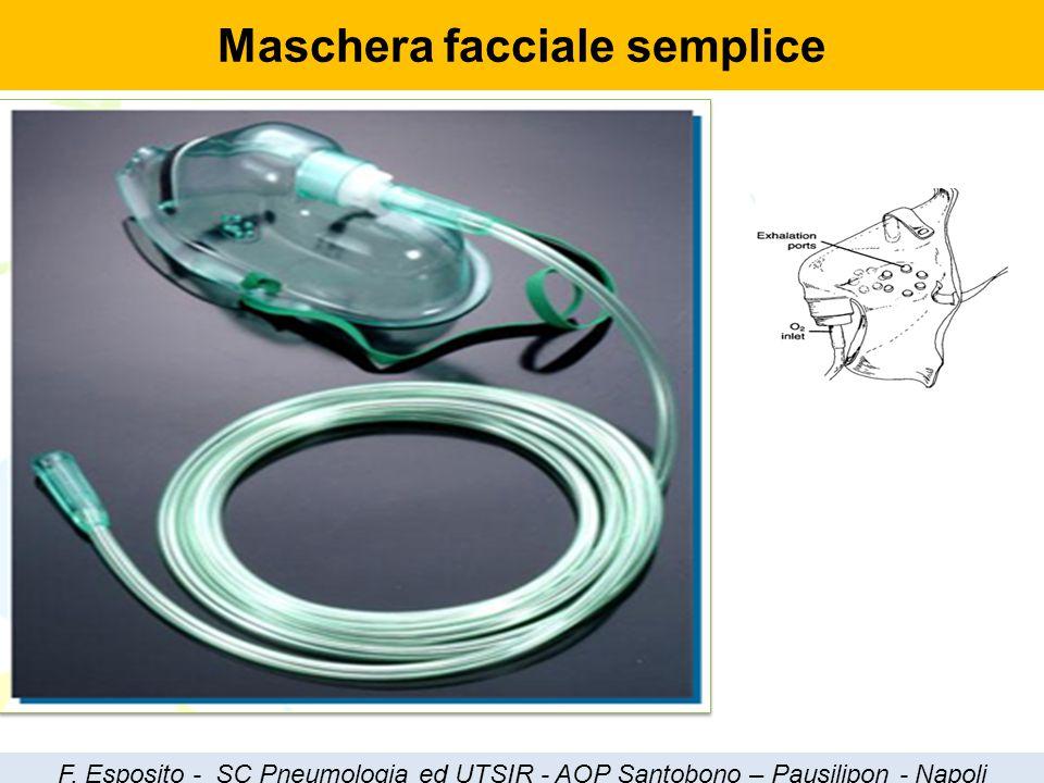 Maschera facciale semplice F. Esposito - SC Pneumologia ed UTSIR - AOP Santobono – Pausilipon - Napoli