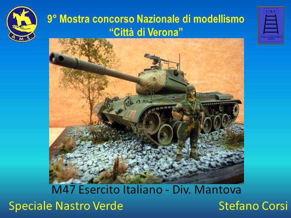 Stefano Corsi M47 Esercito Italiano - Div.