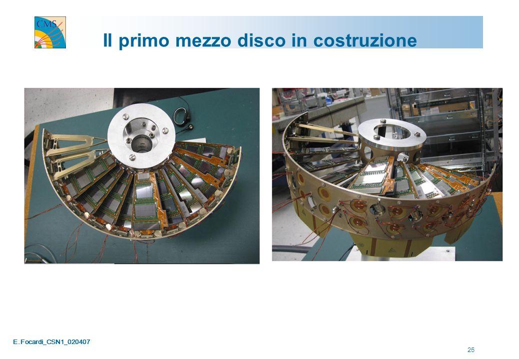 E.Focardi_CSN1_020407 25 Il primo mezzo disco in costruzione