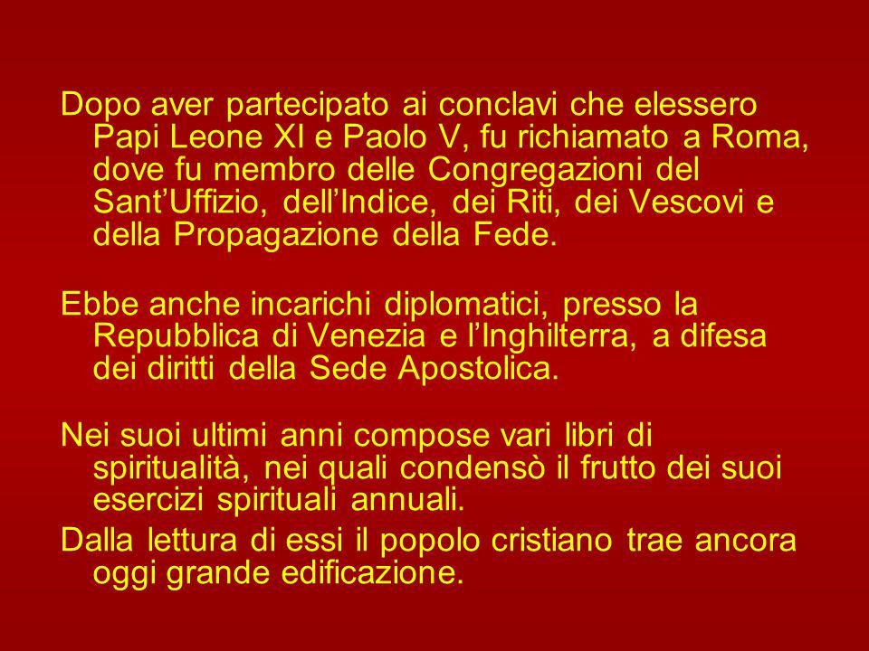 Il 3 marzo 1599 fu creato cardinale dal Papa Clemente VIII e, il 18 marzo 1602, fu nominato arcivescovo di Capua. Ricevette l'ordinazione episcopale i