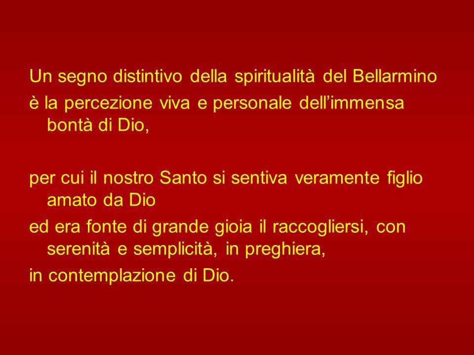 San Roberto offre un modello di preghiera, anima di ogni attività: una preghiera che ascolta la Parola del Signore, che è appagata nel contemplarne la
