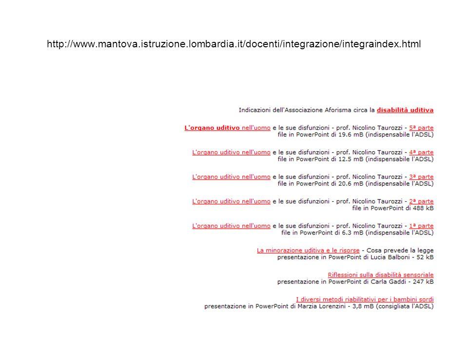 http://www.mantova.istruzione.lombardia.it/docenti/integrazione/integraindex.html