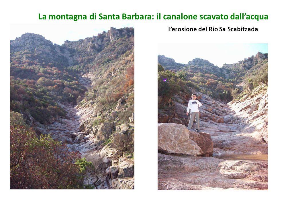 L'erosione del Rio Sa Scabitzada
