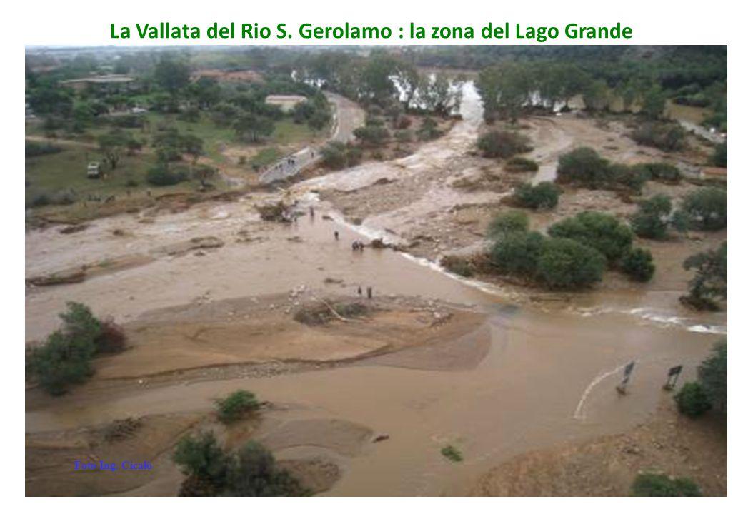 La Vallata del Rio S. Gerolamo : la zona del Lago Grande Foto Ing. Cicalò