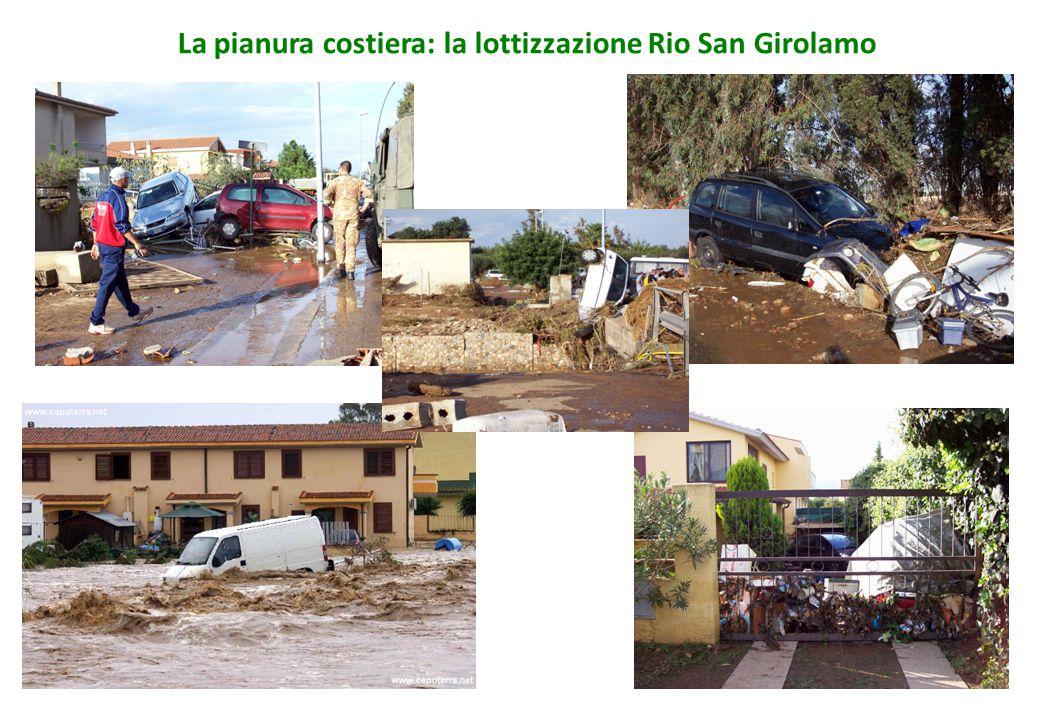 La pianura costiera: la lottizzazione Rio San Girolamo