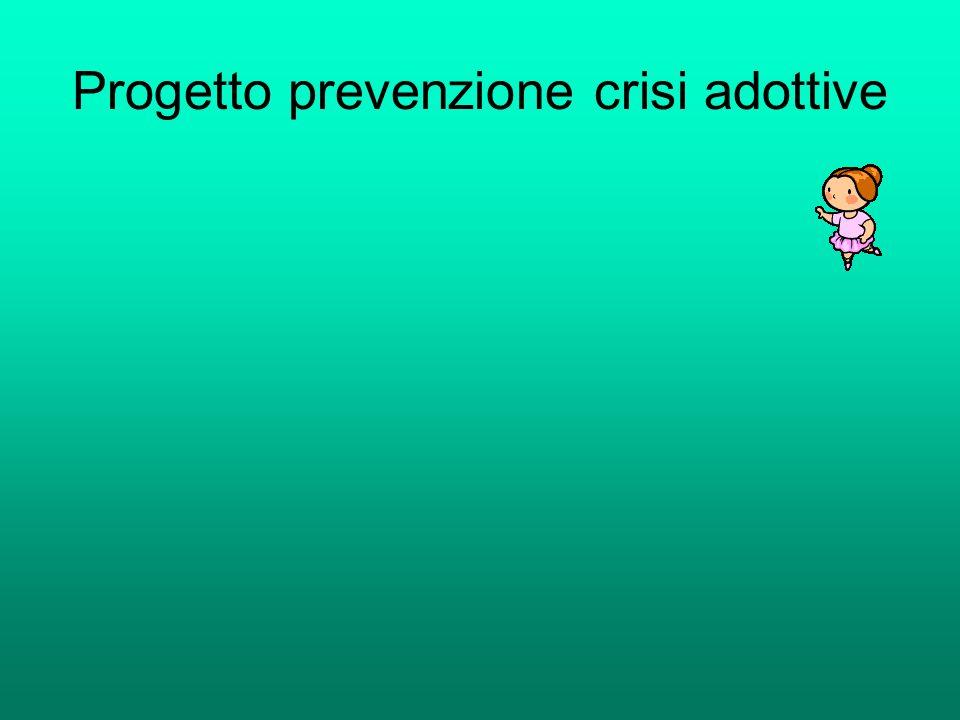 Progetto prevenzione crisi adottive