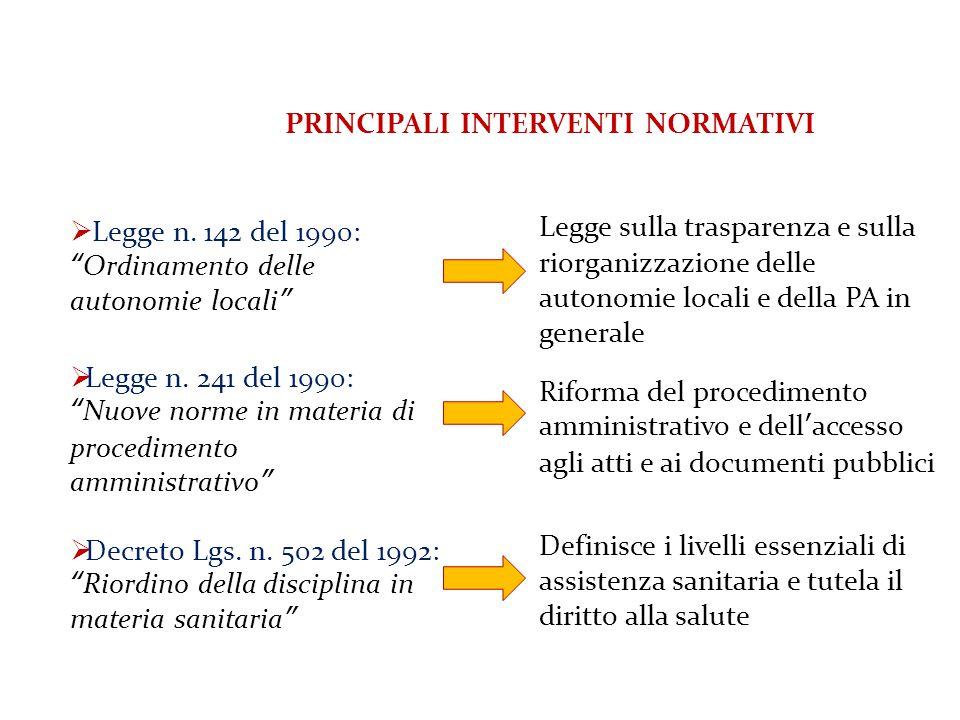 Gli strumenti per la programmazione in ambito pubblico: il metodo incrementale Prof.