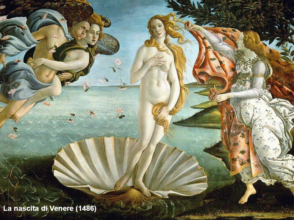 La nascita di Venere (1486)