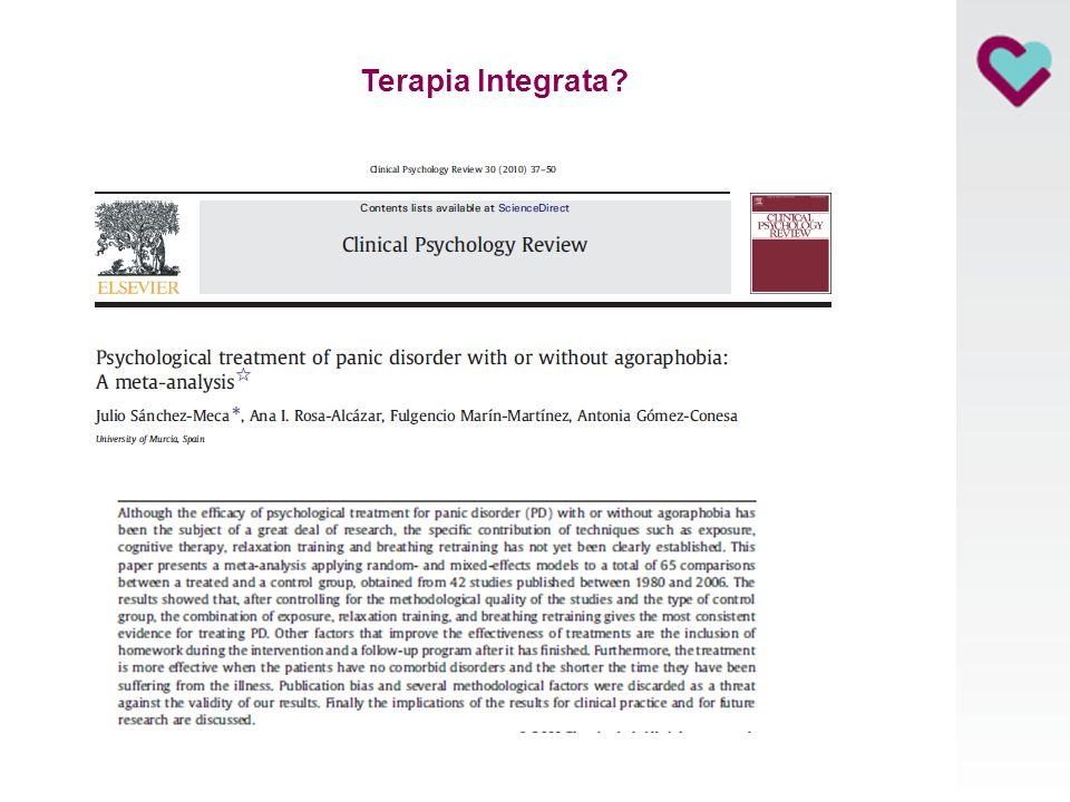 Erba, 23 Giugno 2010 Terapia Integrata?