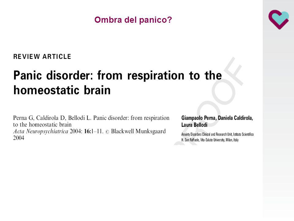 Disturbo di panico: E' sufficiente un serotoninergico e/o la CBT?