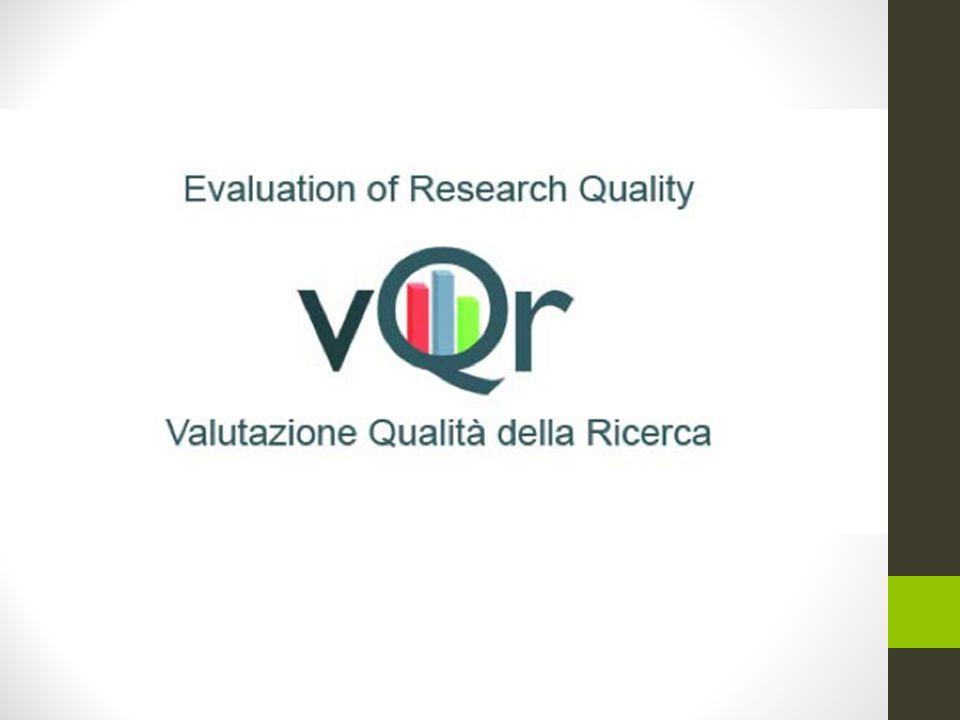 Valutazione della Qualità della Ricerca VQR