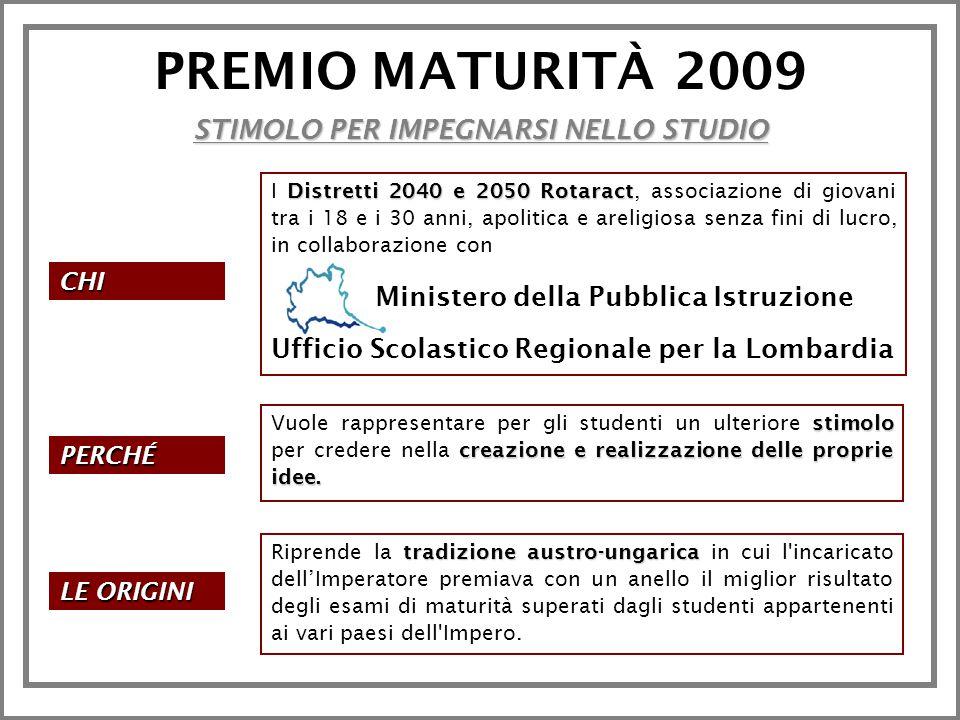Premio Maturità 2009