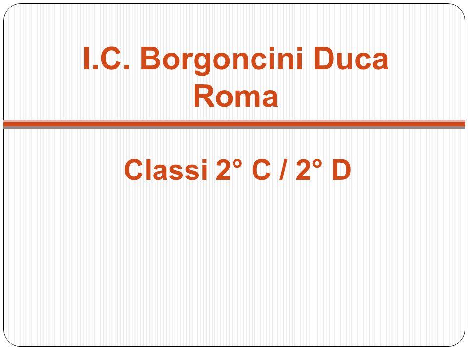 I.C. Borgoncini Duca Roma Classi 2° C / 2° D