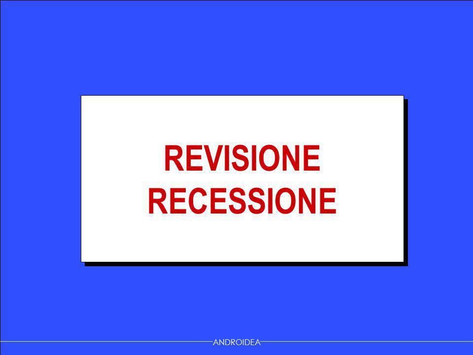 ANDROIDEA REVISIONE RECESSIONE REVISIONE RECESSIONE