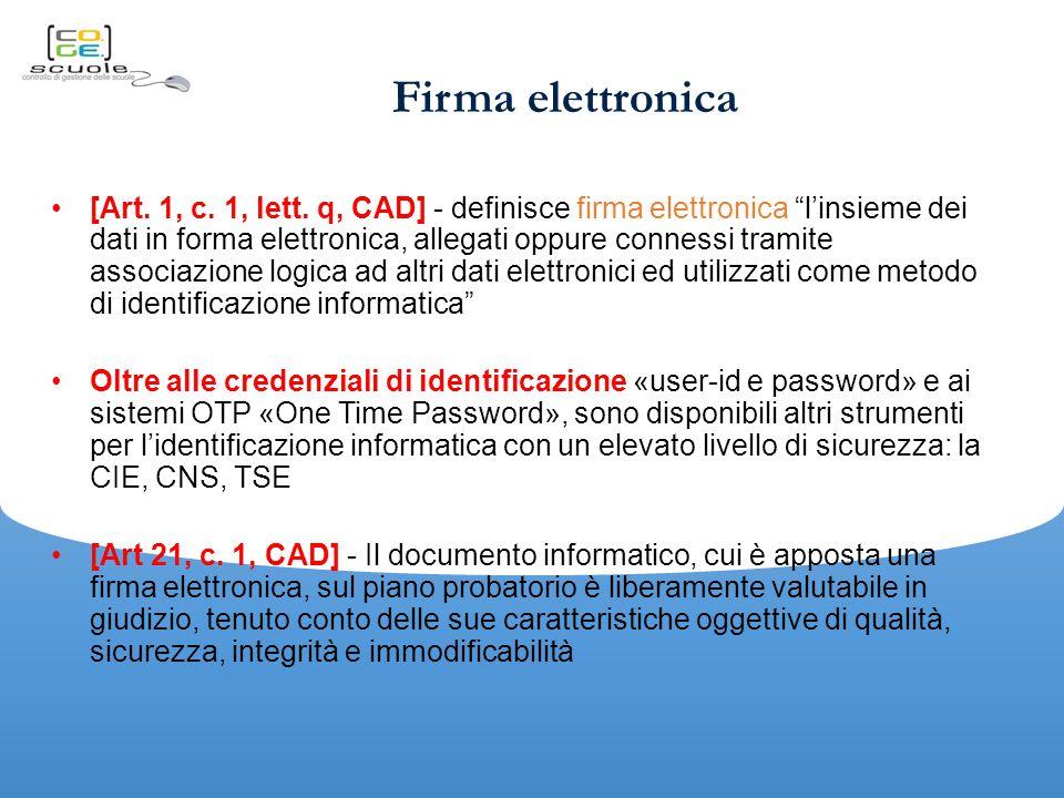 Firma elettronica [Art.1, c. 1, lett.