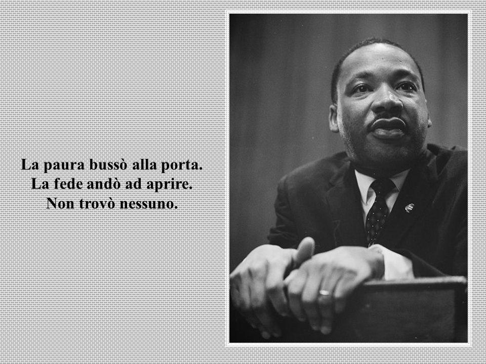 L'ingiustizia in qualsiasi luogo è una minaccia alla giustizia ovunque.