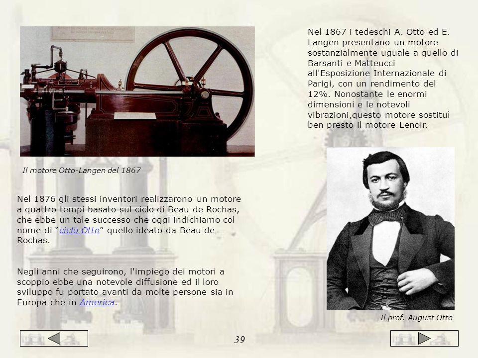Nel 1867 i tedeschi A.Otto ed E.
