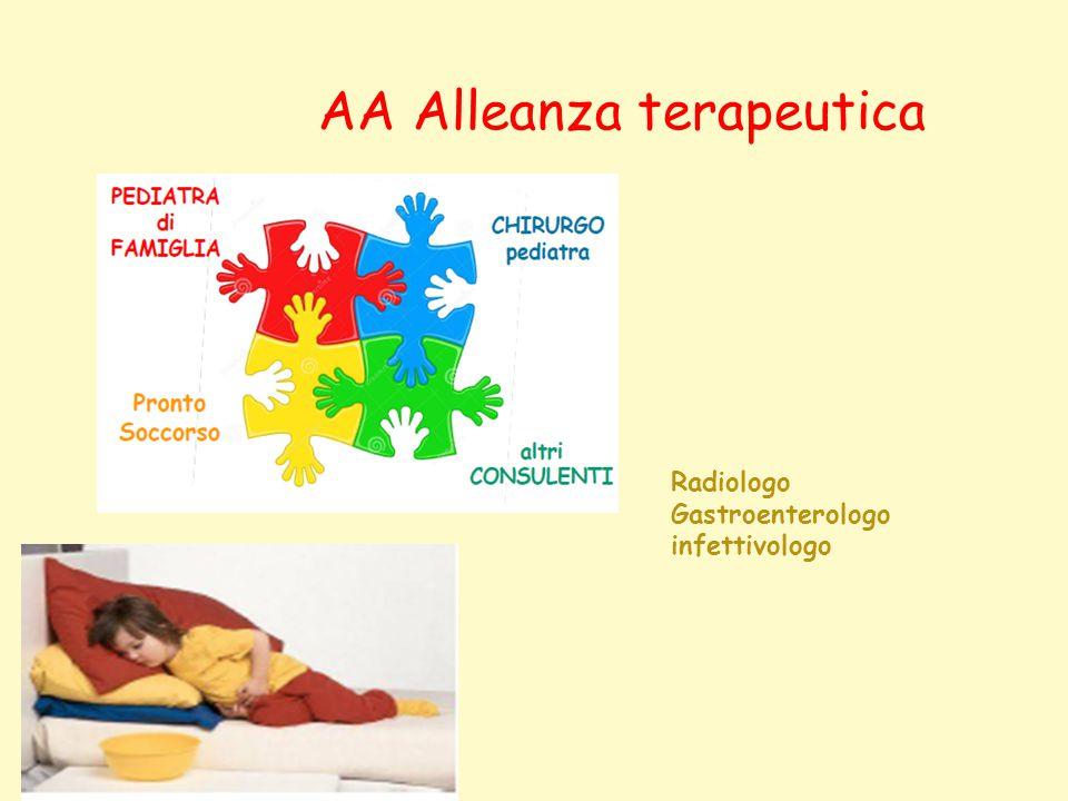AA Alleanza terapeutica Radiologo Gastroenterologo infettivologo