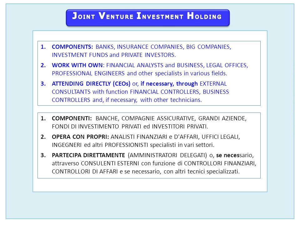 ABOUT USCHI SIAMO 2012 ®3Joint Venture Investment Holding S.A.