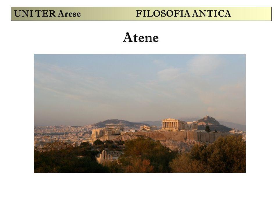 Atene UNI TER Arese FILOSOFIA ANTICA