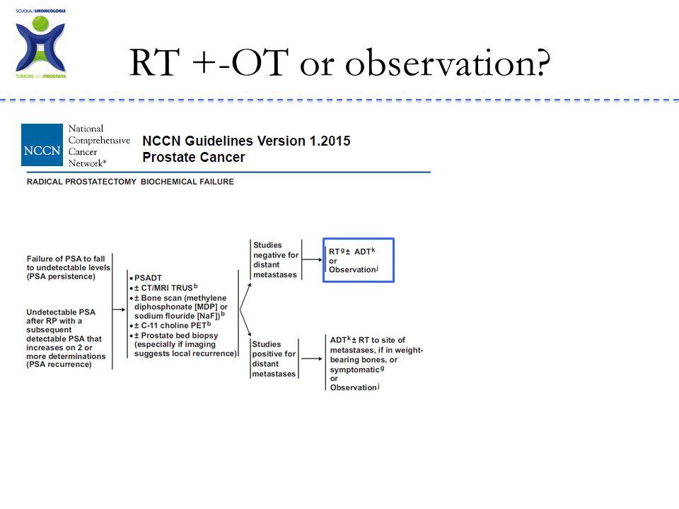 RT +-OT or observation?