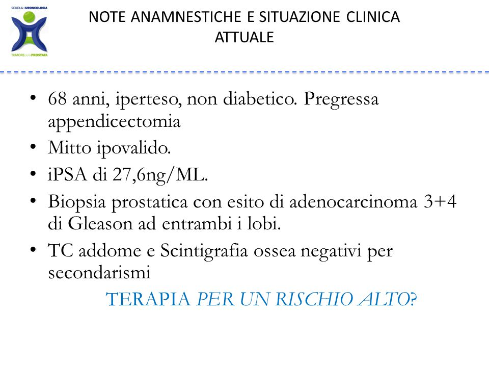 More effective when PSA is less than 0.5ng/mL.. COSA DICONO LE LINEE GUIDA