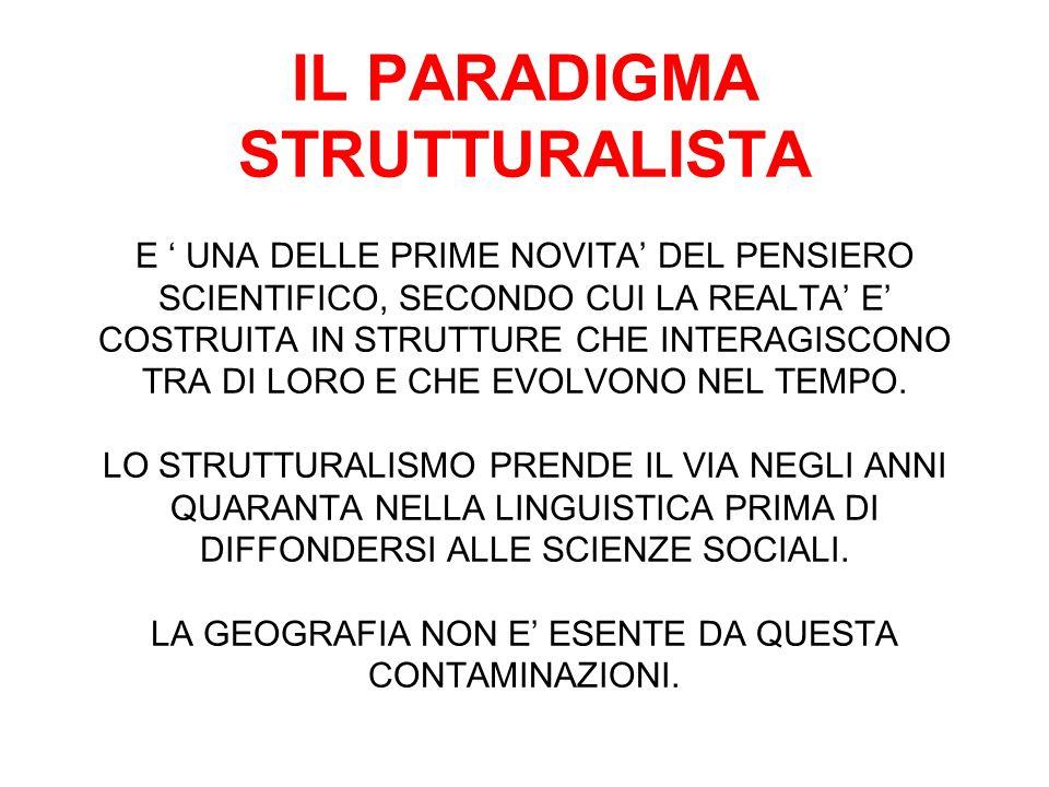 CRISI DELLO STRUTTURALISMO ANNI SETTANTA: IN TERMINI EPISTEMOLOGICI AVANZA IL POST-STRUTTURALISMO CHE DECOSTRUISCE L'OGGETTIVITA' DELLA CONOSCENZA.