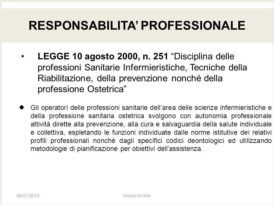 """LEGGE 10 agosto 2000, n. 251 """"Disciplina delle professioni Sanitarie Infermieristiche, Tecniche della Riabilitazione, della prevenzione nonché della p"""