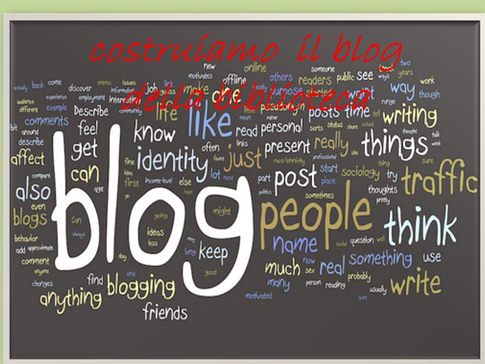 costruiamo il blog della biblioteca