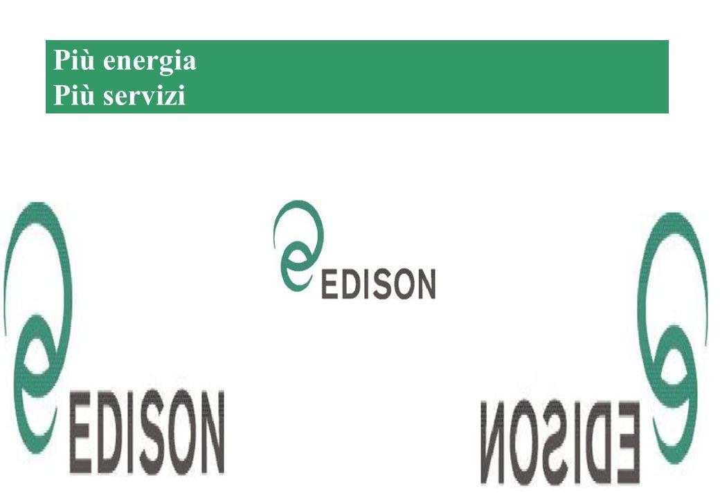 15 Chi è Edison… Più energia Più servizi