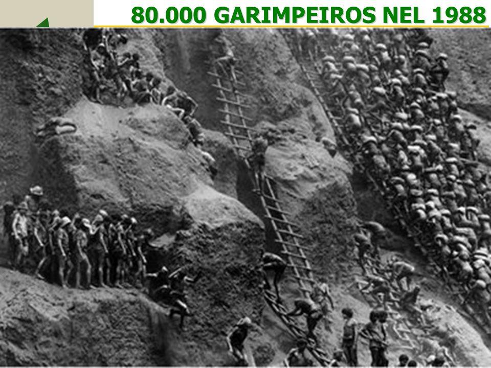 80.000 GARIMPEIROS NEL 1988