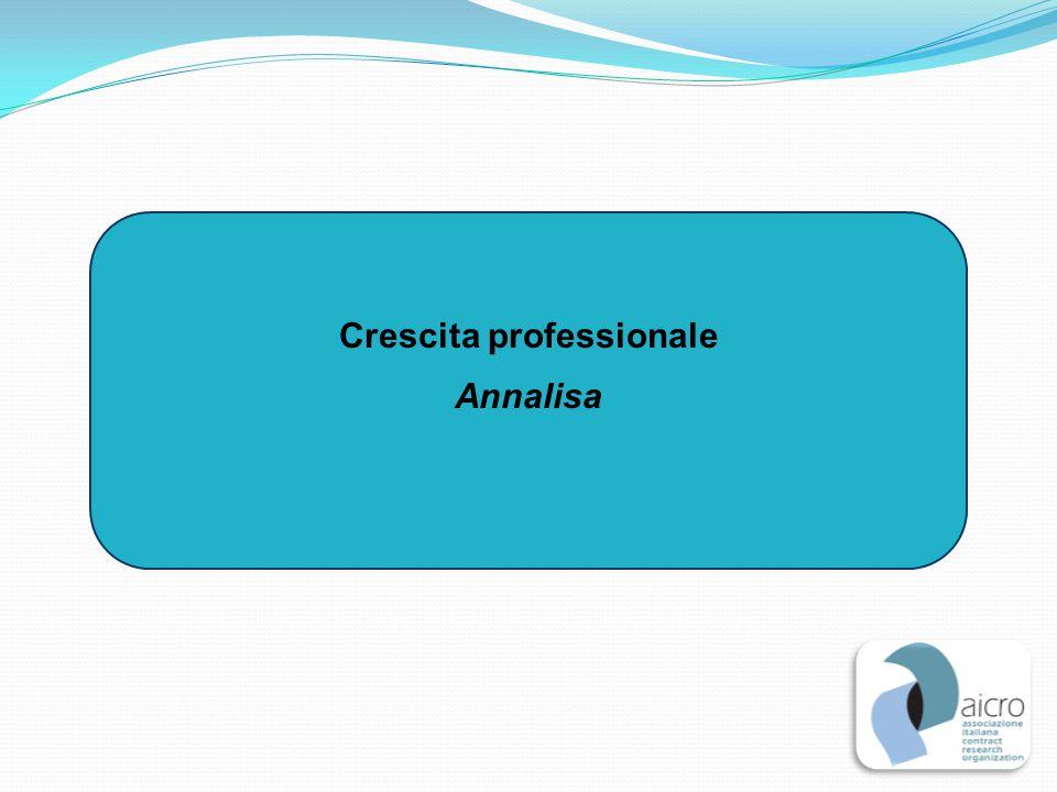 Crescita professionale Annalisa
