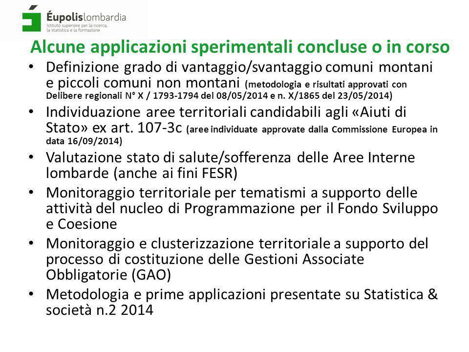 Misurare il benessere dei comuni italiani con metodologia BES