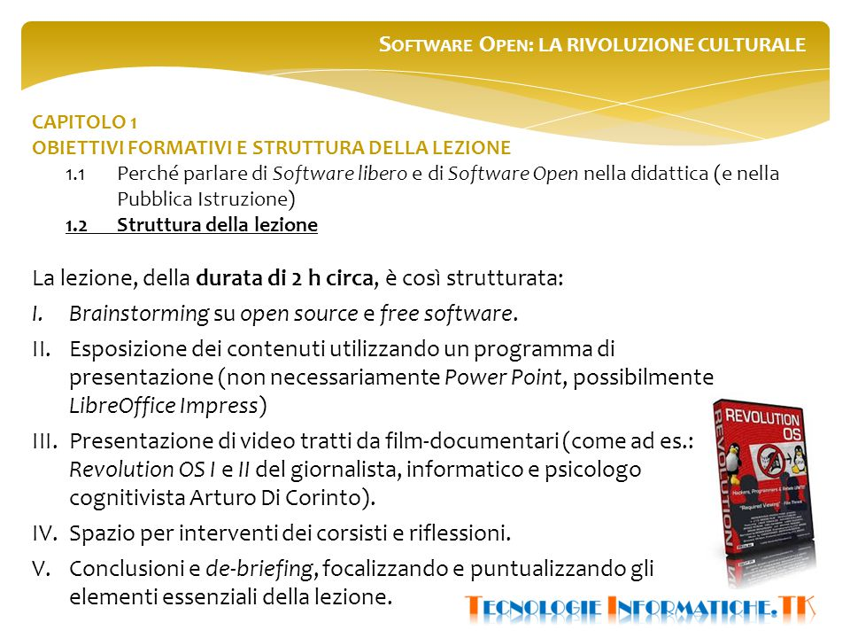 CAPITOLO 3 RIFLESSIONI SULL'ESPERIENZA PAS PER UN MIGLIORE PROGETTO FORMATIVO 3.3Il test di valutazione