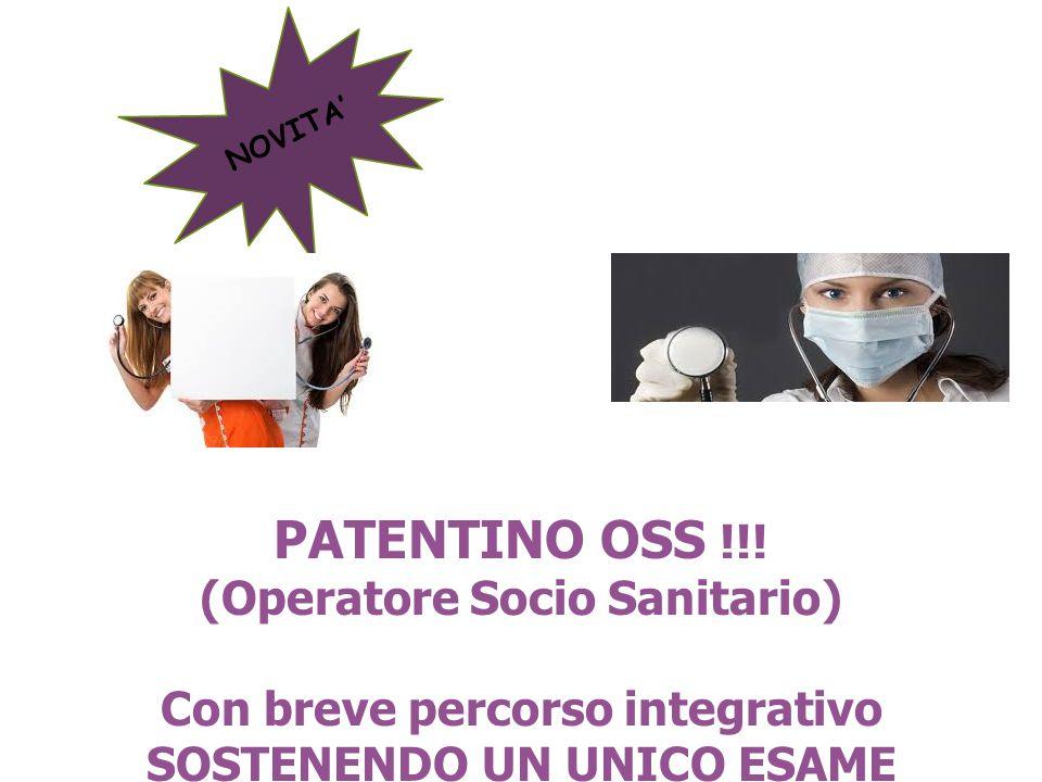 PATENTINO OSS !!.
